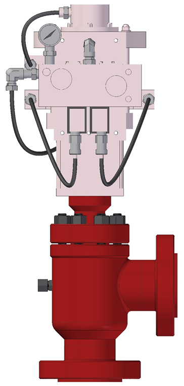 Hydraulic Actuator Operated: Automated Chokes